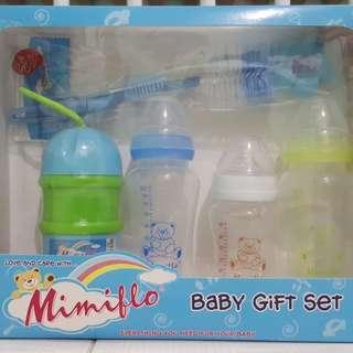 Mimiflo baby bottle gift set