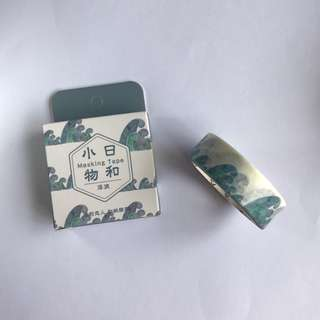 [3 for $6] #WT003 WAVES WASHI TAPE