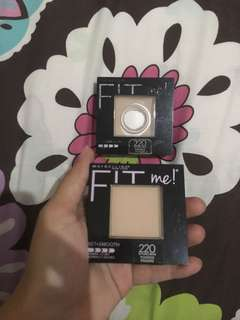 Get 2(two) MAYBELLINE FIT Me! Set+Smooth Pressed Powder 220