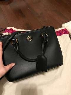 Tory Burch Robinson Micro Double Zip Satchel bag