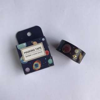[3 for $6] #WT013 SPACE WASHI TAPE
