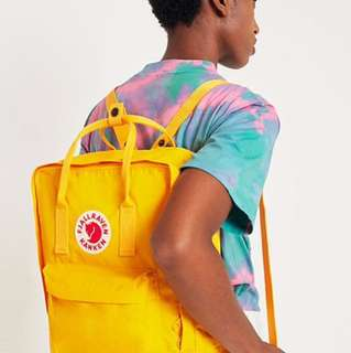 Fjallraven Kanken Classic Warm Yellow Backpack