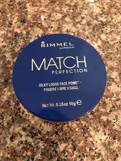 Rimmel London Match Perfection Silky Loose Face Powder - Transparent
