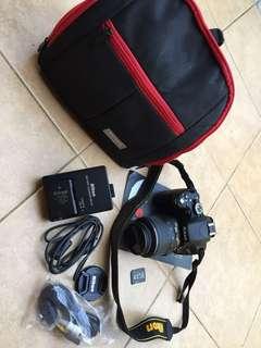 Kamera dslr nikon d5100 like new