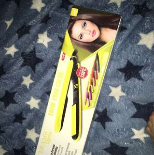 Ceramic styler / Ceramic straightener and curler