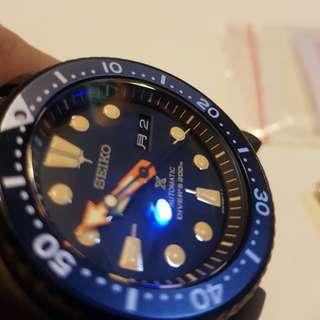Seiko Black turtle SRPC49K1 not Rolex Panerai IWC
