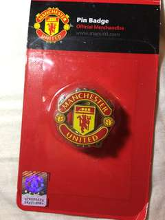 購自英國 曼聯Official Manchester United Pin Badge