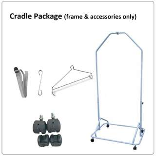 cradle (frame only, without net and springs)