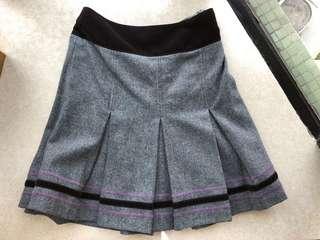 Winter grey skirt
