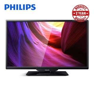 Philips 32 Inch 80cm Slim LED TV with Digital Crystal Clear 32PHA4100