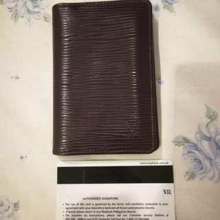LV Epi Card Holder