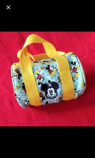 💟 Blue Mickey Mouse Kids Bag