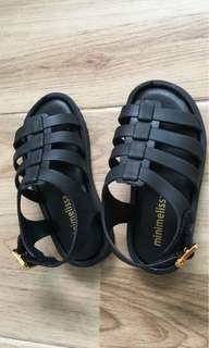 Brand new mini melissa inspired rubber sandals shoes