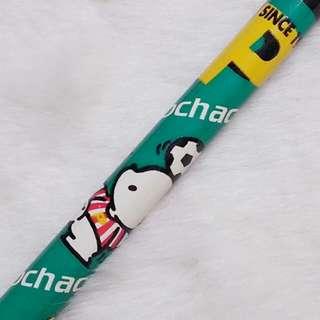 1996年絕版 Pochacco PC狗 公仔圖案 木鉛筆