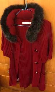 紅色外套 秋冬款式