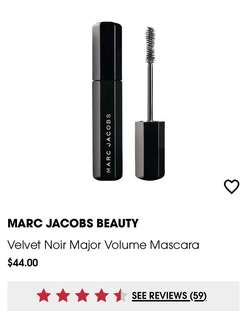 Marc Jacobs velvet noir mascara (travel sized/full bottle available)