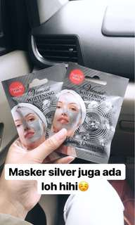 Whitening facemask peel off (Silvermask)