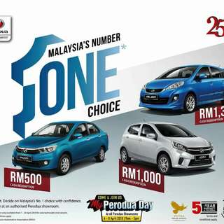 New Perodua Trusted Sales Advisor