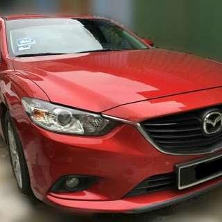 Sambung bayar Mazda 6 2.0cc