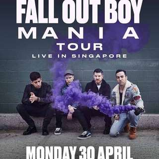 Fall Out Boy Mania Tour @Zepp Box Singapore