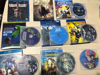 二手影碟 blu ray dvd