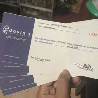 DAVID SALON GC 15% off