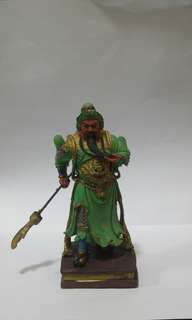 Guan yu clay figure(decor only)