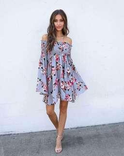 Off Smocked Dress