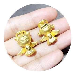 pure gold 硬金999 angle 天使寶寶