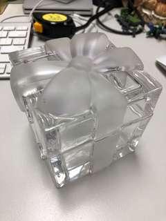 Tiffany & Co禮物盒型水晶盒