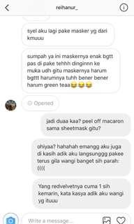 Review masker peeloff greentea