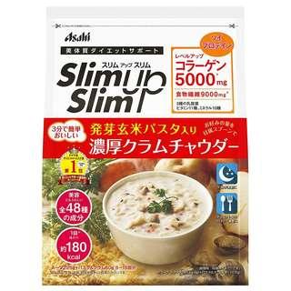 (全新訂購) 日本製造 Asahi Slim Up Slim 周打蜆湯 (含發芽玄米) 285g (5-15餐份量)