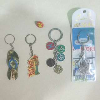 #Blessing / Free Giveaway: Keychains & Pin Badge
