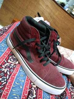 Vans Port Royale High Maroon
