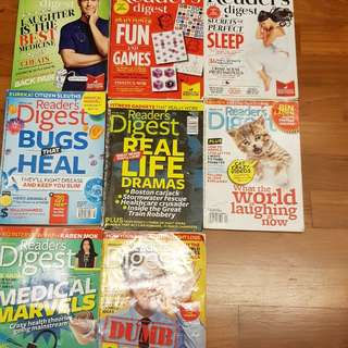 Reader digest & young reader club
