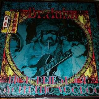 Dr. John–High Priest Of Psychedelic Voodoo - Vinyl Record 3xLP Box Set