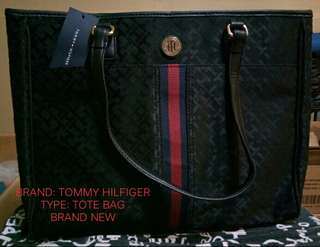 Tommy tote bag