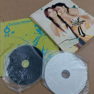 Twins touch of love CD & VCD