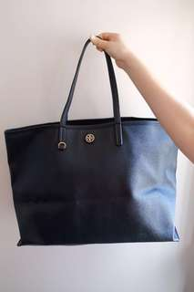 100% Authentic 95% New Tory Burch Cameron Tote Bag