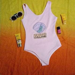 Cute Onepiece swimsuit