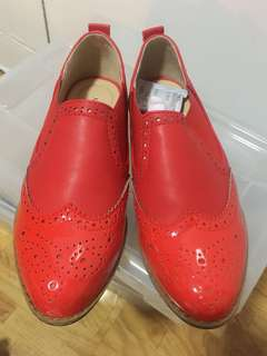 Brand New Australian Red Shoes
