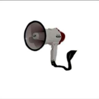 Ealsem ES-46R megaphone speaker spk pengeras suara portable demo