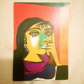 Pablo Picasso 畢加索明信片~postcard