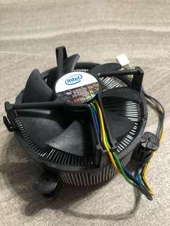 Intel 原裝 LGA1366 socket CPU Heatsink 散熱器 Cooling Fan
