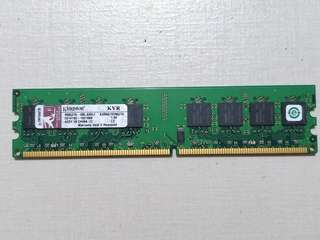 RAM Kingston KVR667D2N5/1G