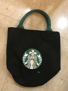 Starbucks tote, lunch bag, carrier bag