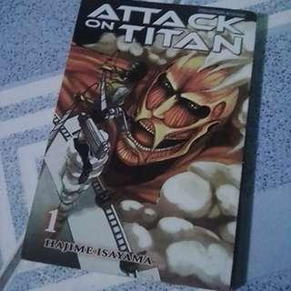 Attack on Titan Volume 1 Manga