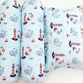 Baby Bedding Set - Friendly Whale