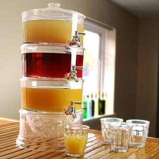 Three Tier Drink Dispenser