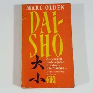 Dai-Sho by Marc Olden